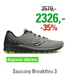 Saucony Breakthru 3 Grey