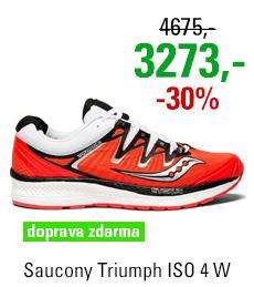 Saucony Triumph ISO 4 Vizi Red/Black/White