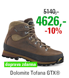 Dolomite Tofana GTX® Dark Brown