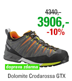 Dolomite Crodarossa GTX Grey/Orange