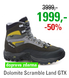Dolomite Scramble Land GTX Anthracite/Yellow