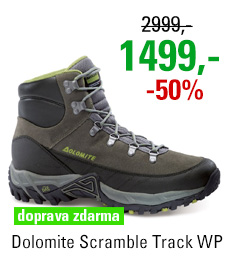 Dolomite Scramble Track WP Grey/Green