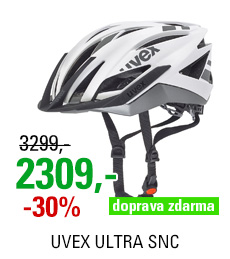UVEX ULTRA SNC, WHITE-SILVER MAT 2016
