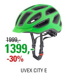 UVEX CITY E, NEON GREEN MAT 2016