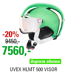 UVEX HLMT 500 VISOR Chrome LTD S566212790 17/18