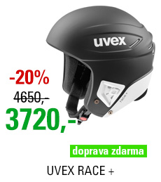 UVEX RACE + black-white mat S566172230 17/18