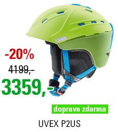 UVEX P2US green-liteblue mat S566178510 17/18