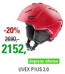 UVEX P1US 2.0 red mat S566211300 17/18