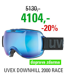UVEX DOWNHILL 2000 RACE blue chrome S5501124026