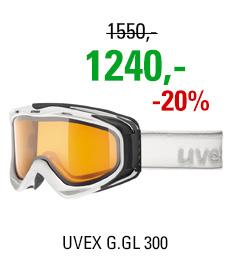 UVEX G.GL 300 white mat dl/lgl clear S5502151129
