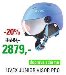 UVEX JUNIOR VISOR PRO blue met mat S566191430 18/19