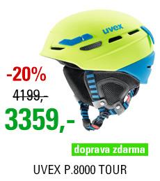 UVEX P.8000 TOUR lime-blue mat S566204640 17/18