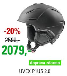 UVEX P1US 2.0 black met mat S566211200 17/18