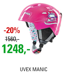 UVEX MANIC pink snow bunny S566226900 18/19