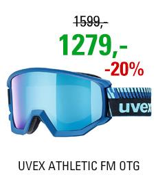 UVEX ATHLETIC FM OTG cobalt met mat/mir blue blue S5505204030
