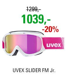 UVEX SLIDER FM white dl/mir pink lgl S5500261030