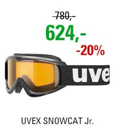 UVEX SNOWCAT black/lgl clear S5538152019