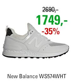 New Balance WS574WHT
