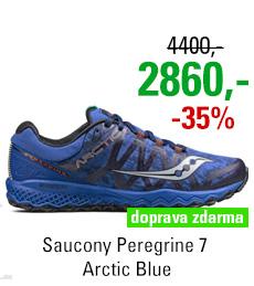 Saucony Peregrine 7 Arctic Blue