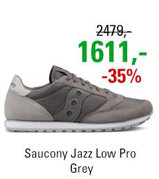 Saucony Jazz Low Pro Grey