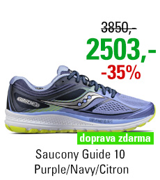 Saucony Guide 10 Purple/Navy/Citron