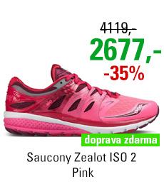 Saucony Zealot ISO 2 Pink