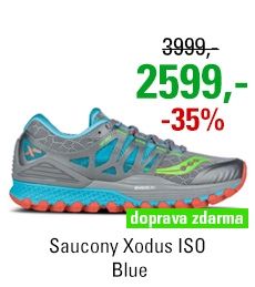 Saucony Xodus ISO Blue