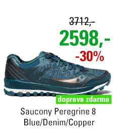 Saucony Peregrine 8 Blue/Denim/Copper