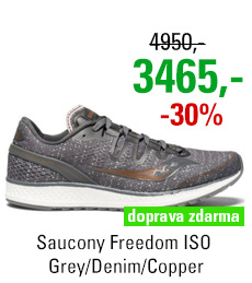 Saucony Freedom ISO Grey/Denim/Copper