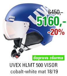 UVEX HLMT 500 VISOR cobalt-white mat S566213400 18/19