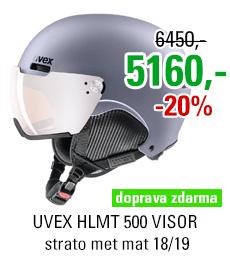 UVEX HLMT 500 VISOR strato met mat S566213500 18/19