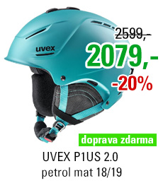 UVEX P1US 2.0 petrol mat S566211410 18/19