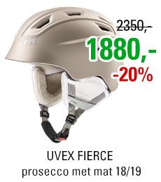 UVEX FIERCE prosecco met mat S566225910 18/19