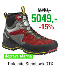Dolomite Steinbock Approach HP GTX Red/Silver
