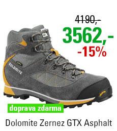 Dolomite Zernez GTX Asphalt Grey/Saffron Yellow