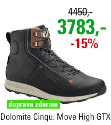 Dolomite Cinquantaquattro Move High GTX Black