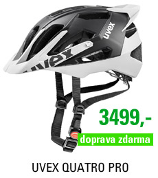 UVEX QUATRO PRO, BLACK-WHITE MAT