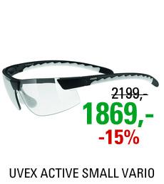 UVEX ACTIVE SMALL VARIO, BLACK MAT/SMOKE