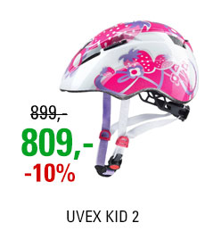 UVEX HELMA KID 2, PINK STRAWBERRY