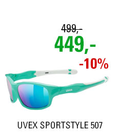 UVEX BRÝLE SPORTSTYLE 507, GREEN WHITE
