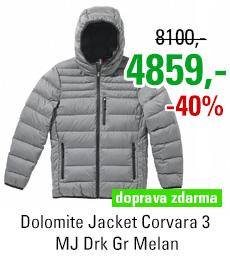 Dolomite Jacket Corvara 3 MJ Drk Gr Melan