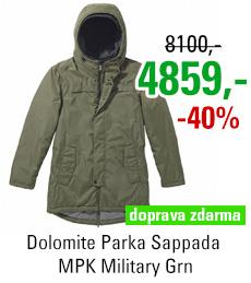 Dolomite Parka Sappada MPK Military Grn