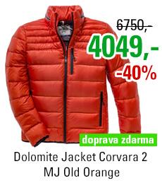 Dolomite Jacket Corvara 2 MJ Old Orange