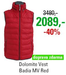 Dolomite Vest Badia MV Red