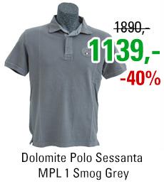 Dolomite Polo Sessanta MPL 1 Smog Grey