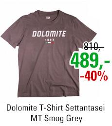 Dolomite T-Shirt Settantasei MT Smog Grey