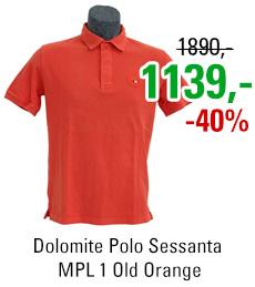 Dolomite Polo Sessanta MPL 1 Old Orange
