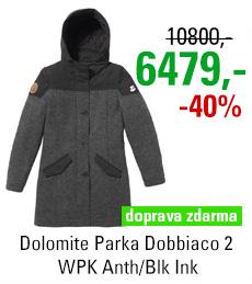 Dolomite Parka Dobbiaco 2 WPK Anth/Blk Ink