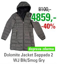Dolomite Jacket Sappada 2 WJ Blk/Smog Gry