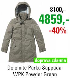 Dolomite Parka Sappada WPK Powder Green